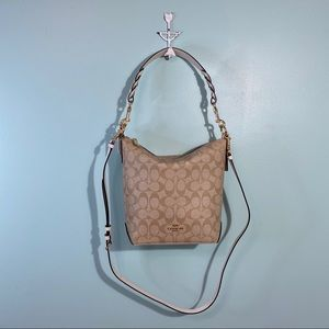 Coach Mini Abby Duffle Handbag Purse NWT